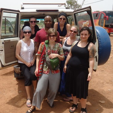 Stage Québec sans frontières au Burkina Faso en 2014
