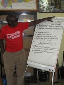 Seydou Savadogo, producteur de riz - Banzon